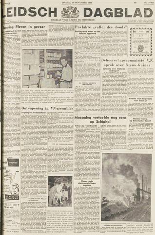 Leidsch Dagblad 1951-11-20