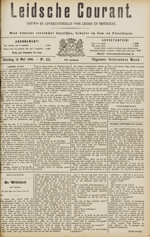 Leydse Courant 1890-05-13