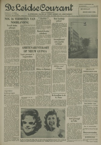 Leidse Courant 1962-09-25