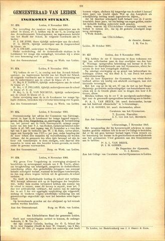Handelingen van de Raad 1901-11-08