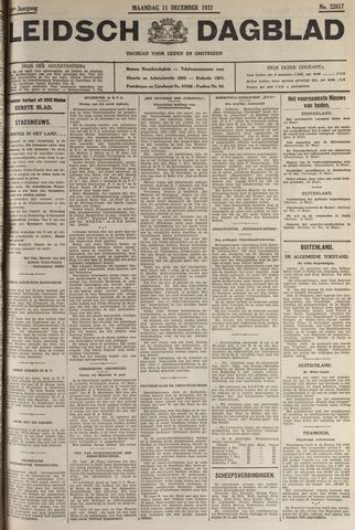 Leidsch Dagblad 1933-12-11
