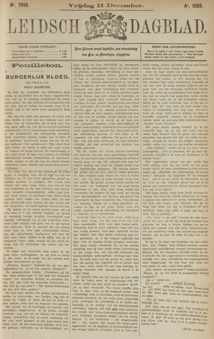 Leidsch Dagblad 1885-12-11