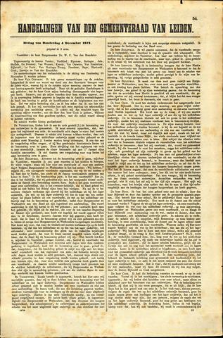 Handelingen van de Raad 1873-12-04