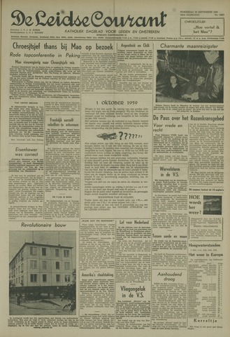 Leidse Courant 1959-09-30