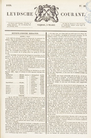 Leydse Courant 1850-03-08