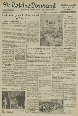 Leidse Courant 1950-10-04