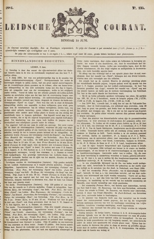 Leydse Courant 1884-06-10