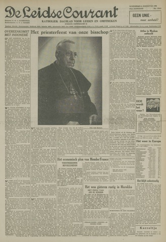 Leidse Courant 1954-08-11
