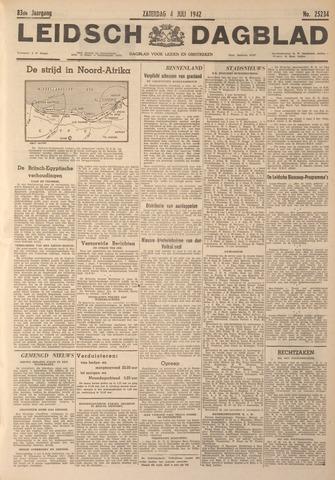 Leidsch Dagblad 1942-07-04