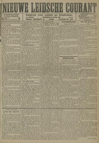 Nieuwe Leidsche Courant 1921-04-13