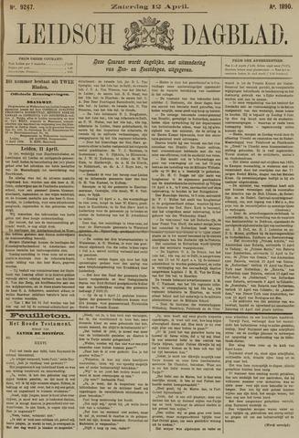 Leidsch Dagblad 1890-04-12