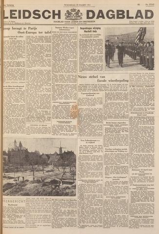 Leidsch Dagblad 1951-03-28