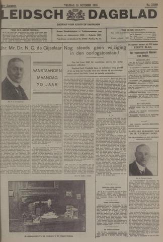 Leidsch Dagblad 1935-10-18