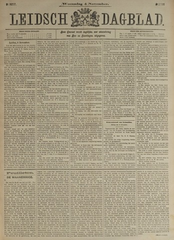 Leidsch Dagblad 1896-11-04