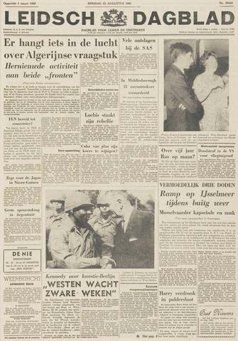 Leidsch Dagblad 1961-08-22