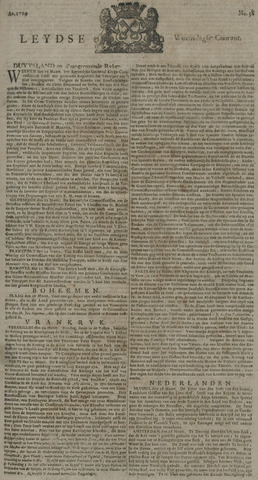 Leydse Courant 1729-03-30