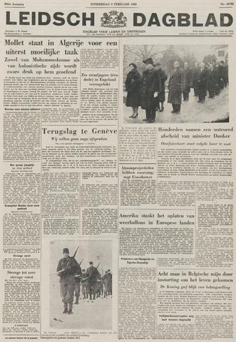Leidsch Dagblad 1956-02-09