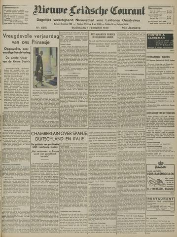 Nieuwe Leidsche Courant 1939-02-01