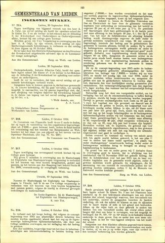 Handelingen van de Raad 1914-09-30