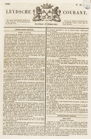 Leydse Courant 1860-02-27