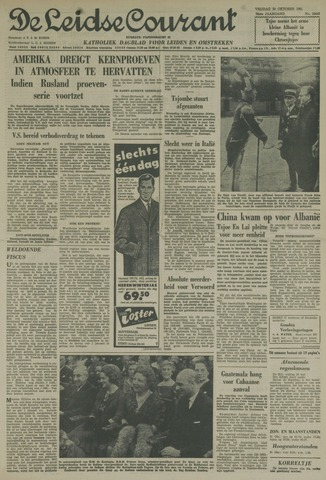Leidse Courant 1961-10-20