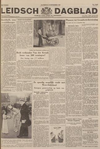 Leidsch Dagblad 1951-09-15