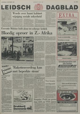 Leidsch Dagblad 1985-10-19