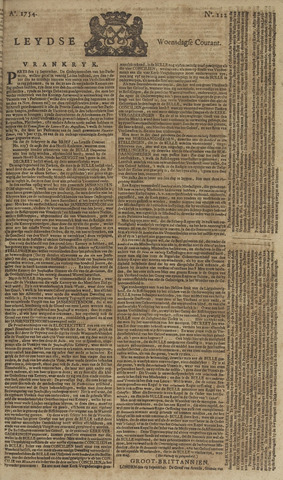 Leydse Courant 1754-09-18