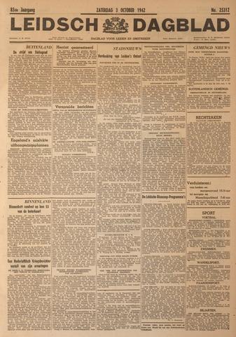 Leidsch Dagblad 1942-10-03