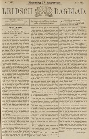 Leidsch Dagblad 1885-08-17