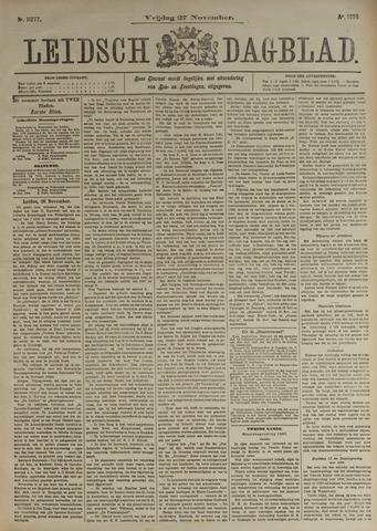 Leidsch Dagblad 1896-11-27