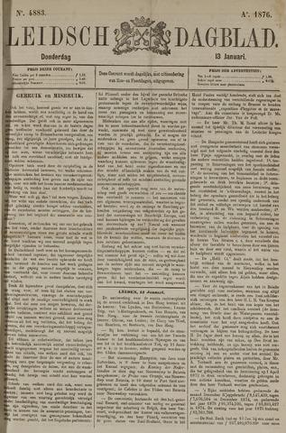 Leidsch Dagblad 1876-01-13