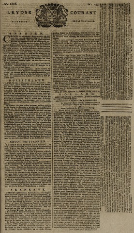 Leydse Courant 1808-11-28
