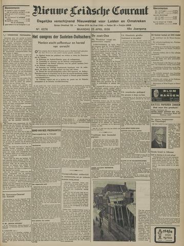 Nieuwe Leidsche Courant 1938-04-25