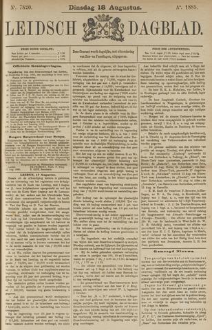 Leidsch Dagblad 1885-08-18