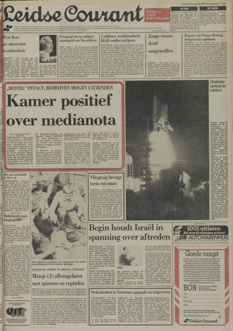 Leidse Courant 1983-08-30
