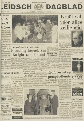 Leidsch Dagblad 1968-10-09