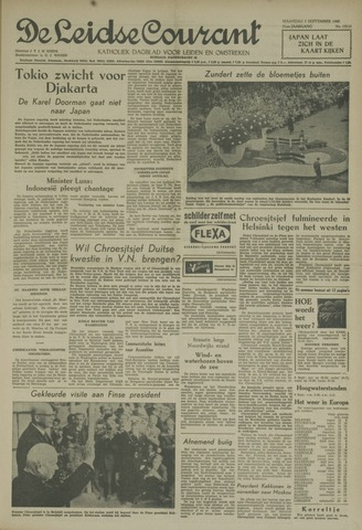 Leidse Courant 1960-09-05