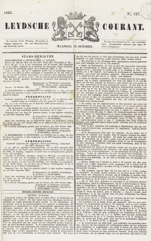 Leydse Courant 1865-10-16