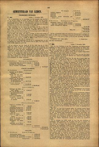 Handelingen van de Raad 1881-11-05