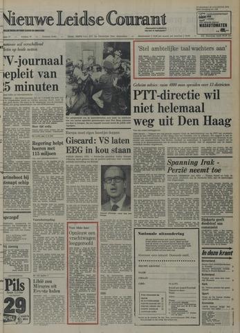 Nieuwe Leidsche Courant 1974-08-28
