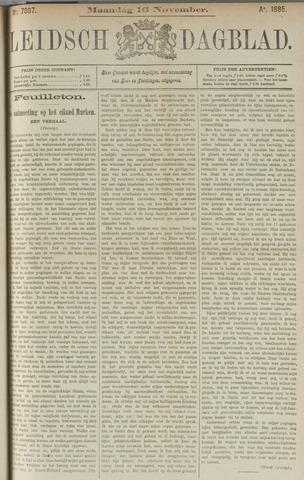 Leidsch Dagblad 1885-11-16