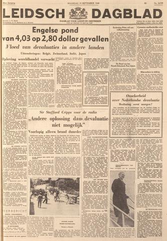 Leidsch Dagblad 1949-09-19