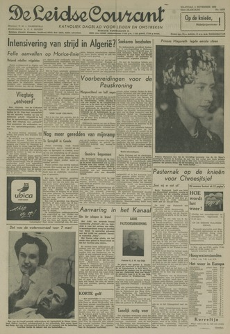 Leidse Courant 1958-11-03
