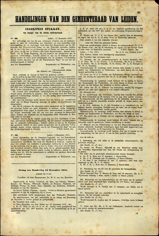 Handelingen van de Raad 1871-12-11