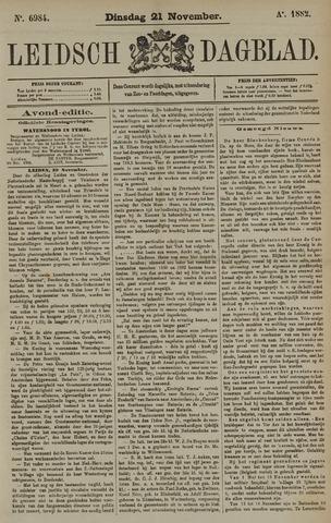 Leidsch Dagblad 1882-11-21