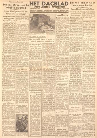 Dagblad voor Leiden en Omstreken 1944-02-05