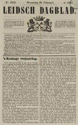 Leidsch Dagblad 1867-02-20