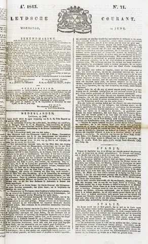 Leydse Courant 1843-06-14