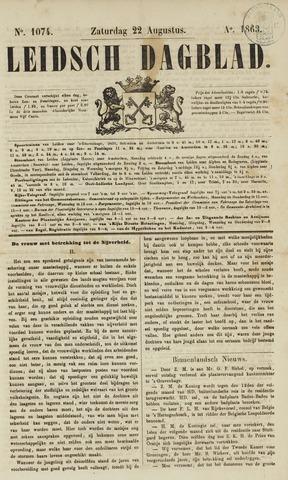 Leidsch Dagblad 1863-08-22